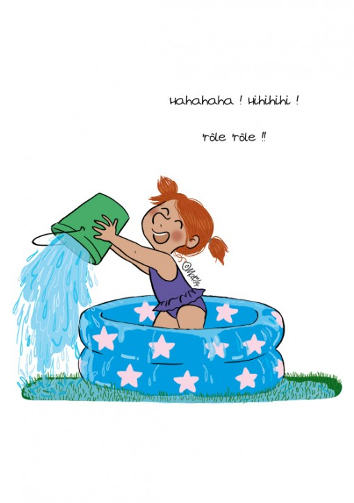 Mimi Cracra l'eau elle aime ça