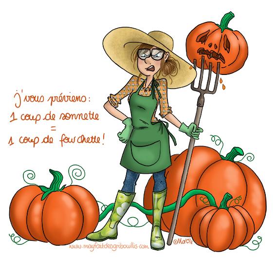 Halloween - ©MaY2018 - à retrouver sur www.mayfaitdesgribouillis.com -